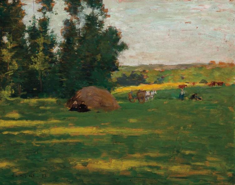 WILLARD LEROY METCALF, American (1858-1925),