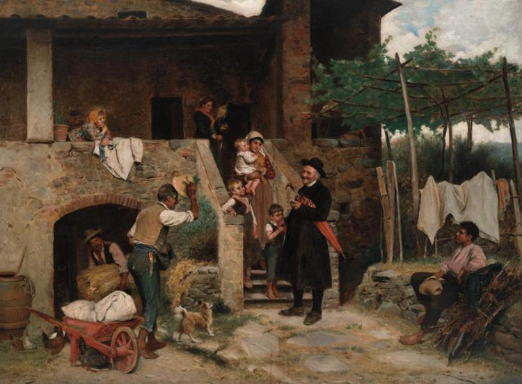 LUIGI BECHI, Italian (1830-1919),