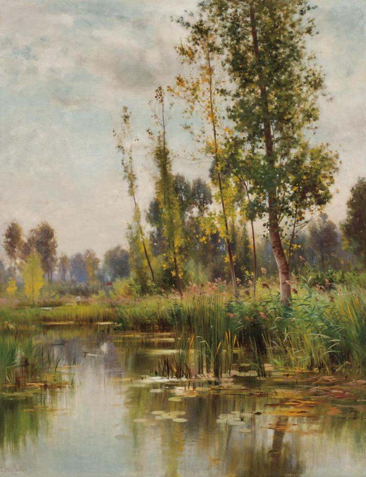 ERNEST PARTON, American (1845-1933),