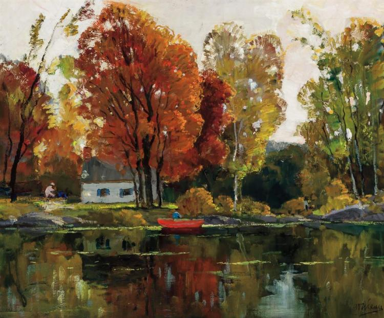 ANTHONY THIEME, American (1888-1954),