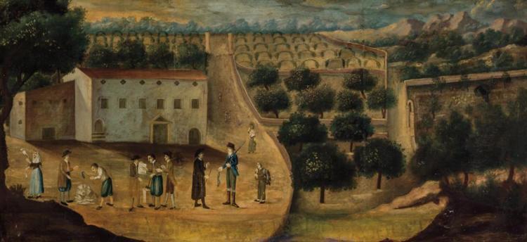SPANISH SCHOOL , Spanish (ca. 1800),
