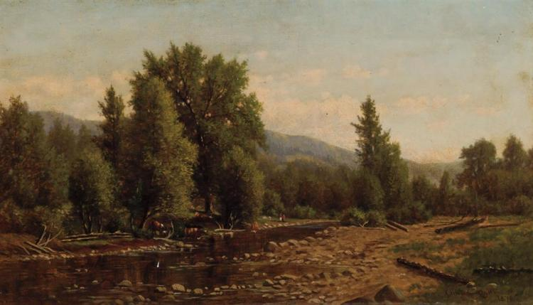 CLINTON OGILVEE, American (1838-1900),