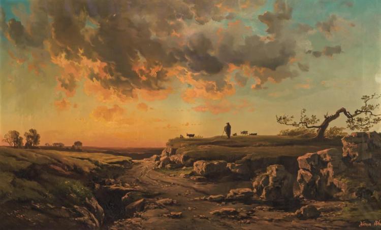 ALEXANDRE RENE VERON, French (1826-1897),