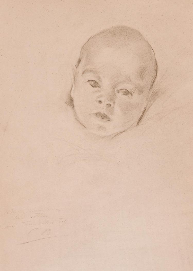 CECILIA BEAUX, American (1855-1942),