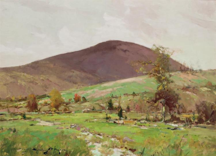 CHAUNCEY FOSTER RYDER, American (1868-1949),