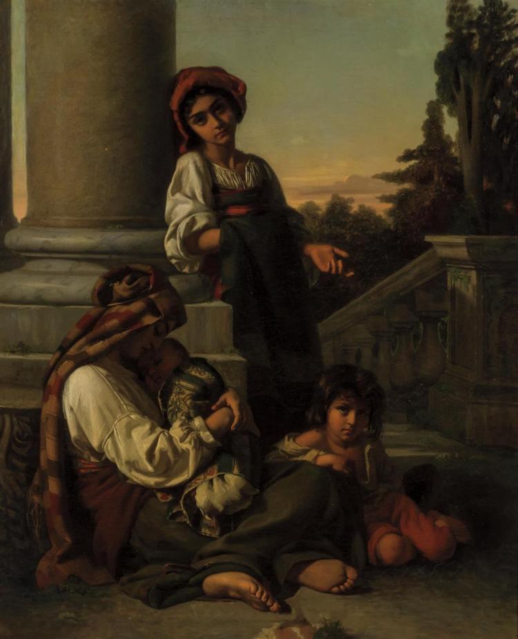 RUDOLF WILHELM AUGUSTE LEHMANN, German (1819-1905),