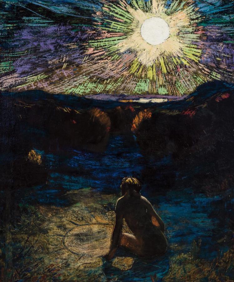 VAN DEARING PERRINE, American (1869-1955),