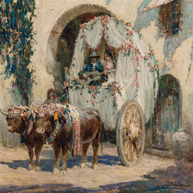 GEORGE WHARTON EDWARDS, American (1859-1950),