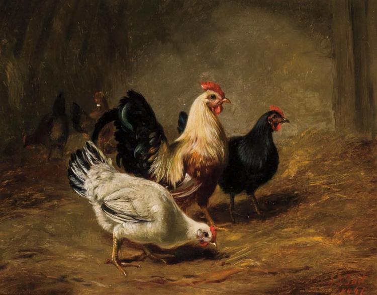 ARTHUR FITZWILLIAM TAIT, American (1819-1905),