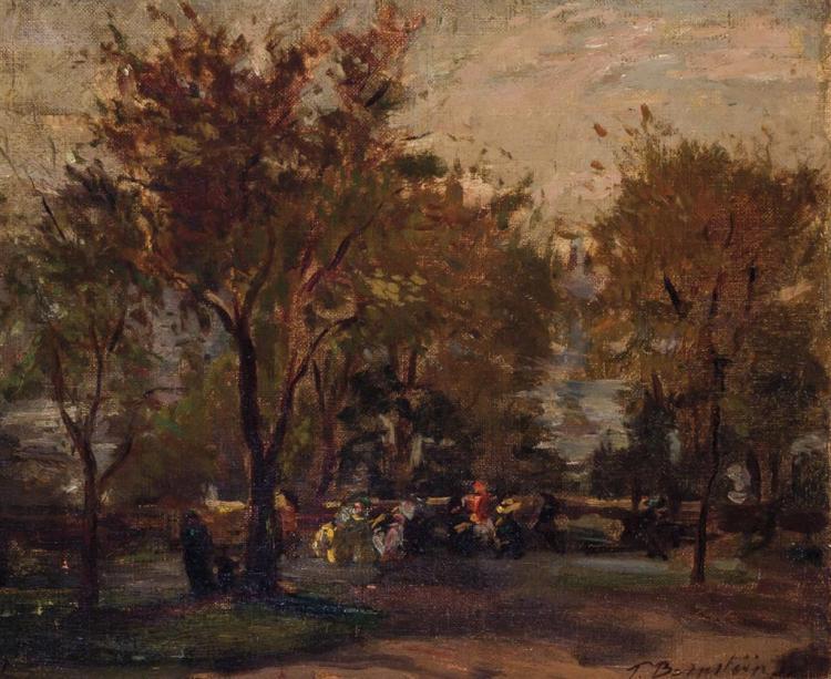 THERESA FERBER BERNSTEIN, American/Polish (1890-2002),