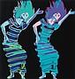 ANDY WARHOL, American (1928-1987), Martha Graham: Satyric Festival Song, screenprint on Lenox Museum Board, HC 7/10, 1986, II.387, R...