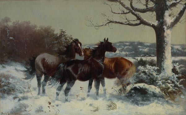 SCOTT LEIGHTON American (1849-1893)