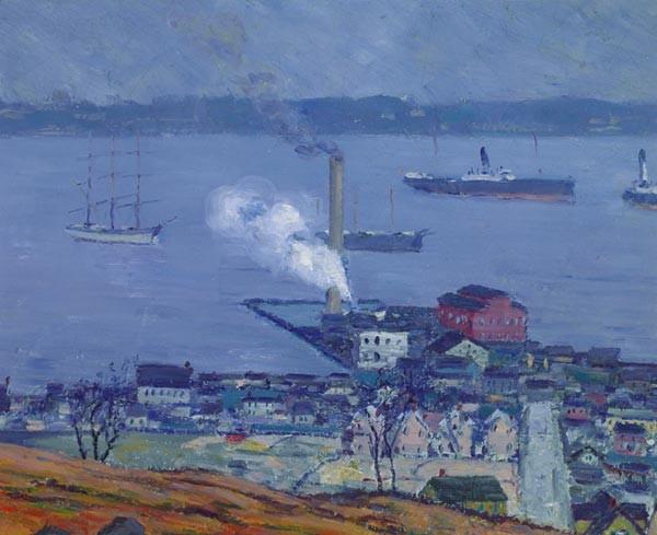 MORRIS HALL PANCOAST American (1877-1963)