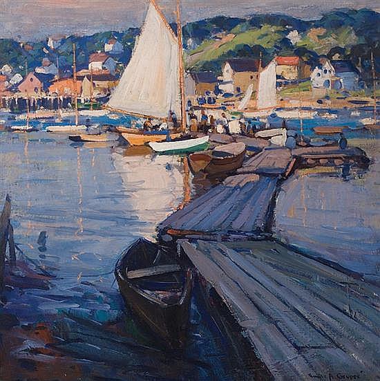 EMILE ALBERT GRUPPE American (1896-1978)