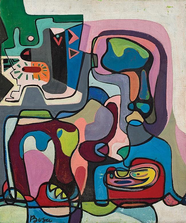 PETER BUSA, American (1914 - 1985),