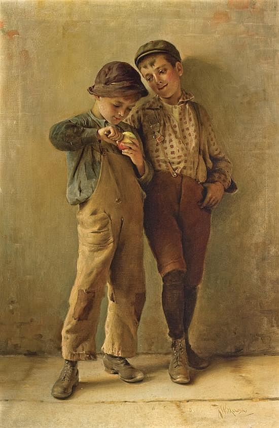 KARL WITKOWSKI, American (1860-1910),
