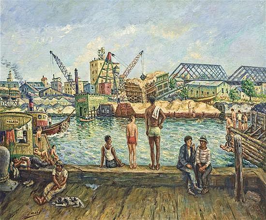 (SAUL KOVNER) SAUL, American (1904-1981),