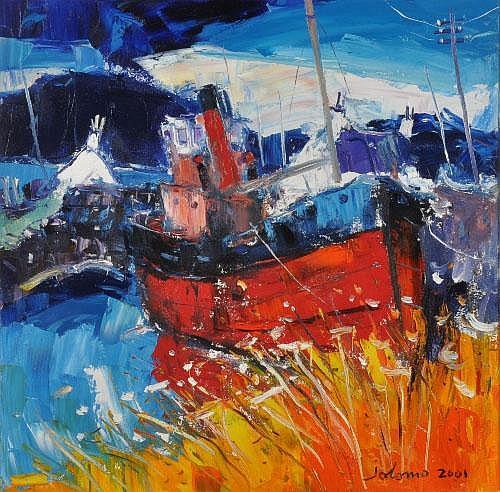 John Lowrie Morrison (b. 1948) ARR Wet Day- Nicks