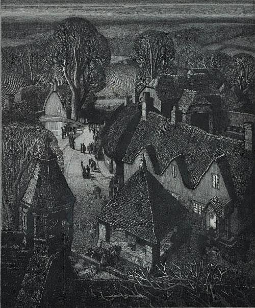 Robin Tanner (Wiltshire 1904-1988) Christmas