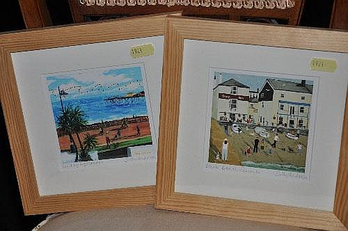 Sally Anderson Pair of limited edition signed