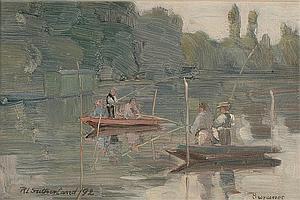 Robert Lewis Sutherland (fl.1889-d.1932) 'Sunday