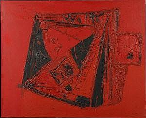 Charles Denis Pulsford ARSA (1912-1989) Head Oil