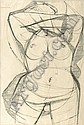 Nigel Lambourne (1919-1988) Undressing Signed ink, Nigel Lambourne, Click for value