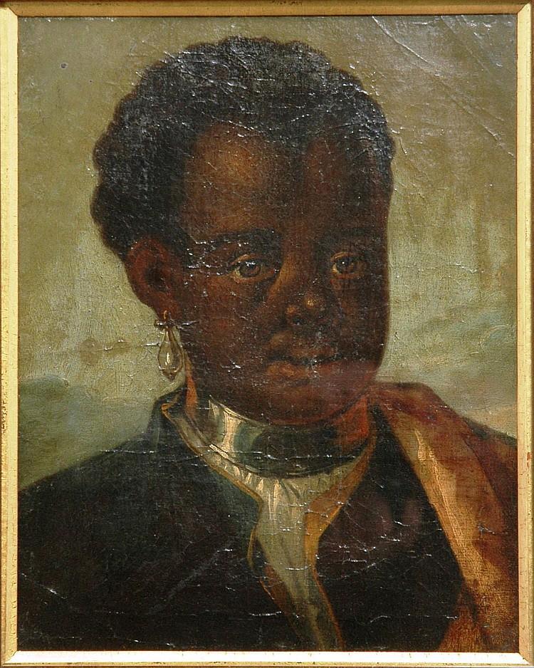 Alexander Runciman(1736-1785) Negro boy, portrait