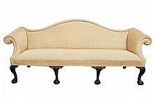 Chippendale Style Settee 19th Century