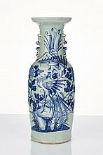 Tall Chinese Porcelain Vase 19th/20th Century