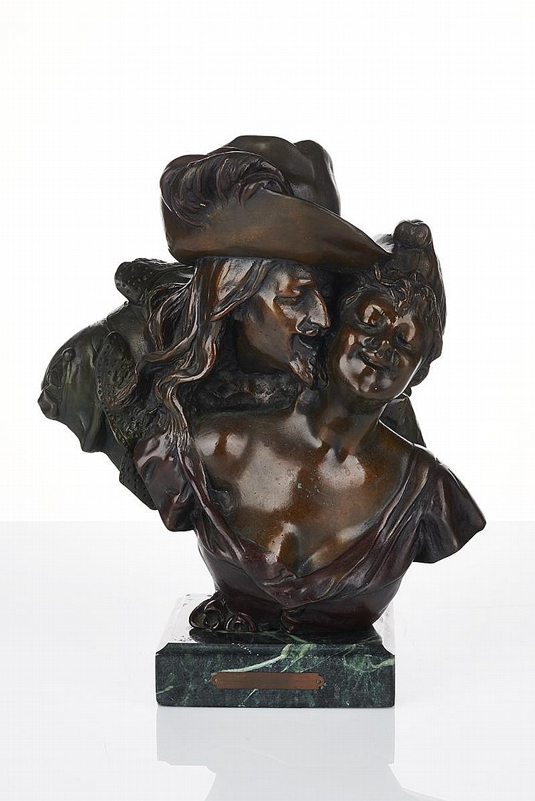 georges van der straeten belgium 1856 1928 bronze figure. Black Bedroom Furniture Sets. Home Design Ideas