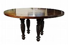 Anglo Indian Mercanti Dining Table