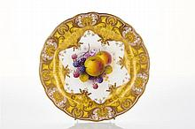 Albert Shuck for Royal Worcester Cabinet Plate, c. 1925