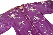Chinese Silk Robe Early 20th Century
