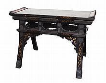 Chinese Hardwood Bench