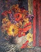 Jean Mary Appleton (1911 - 2003) Still Life oil on