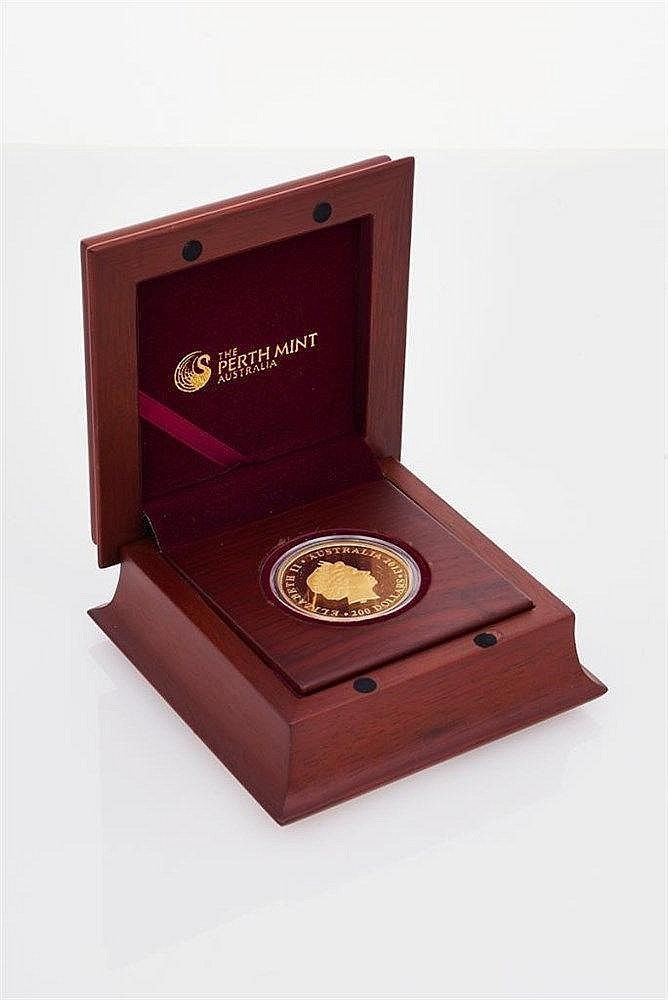 Queen Victoria 175th Anniversary of Coronation, 2013, 2oz Gold Proof Coin 101/150