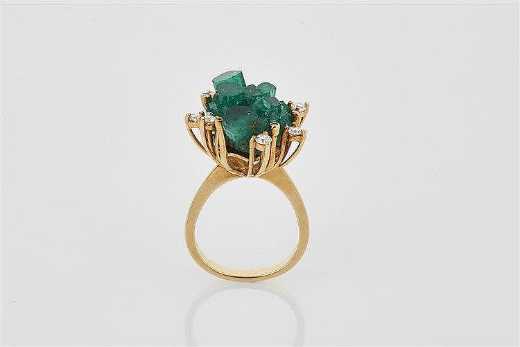 Chatham Emerald Crystal Ring