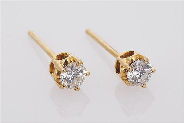 Pair of Diamond Studs