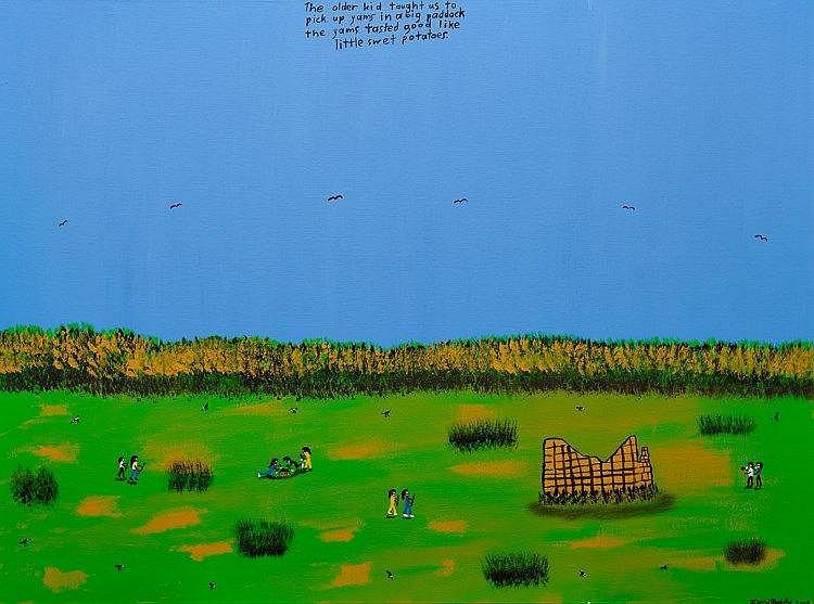 Ian W. Abdulla (1947-2011) - Yams Tasted Good, 2003