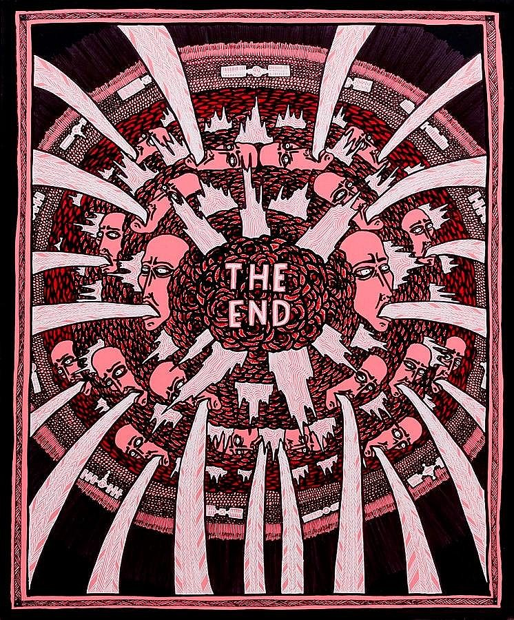 Lucas Grogan (b. 1984) - The End, 2012