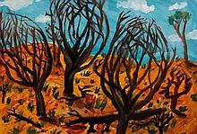 Jill Noble (b. 1962); Landscape, 1987