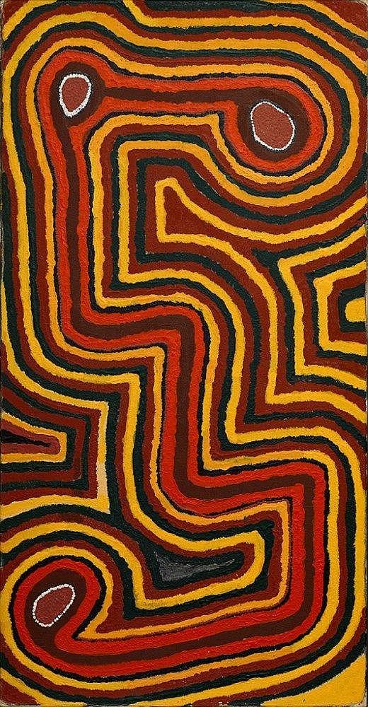 Richard Tax Tjupurrula (b. c. 1935); Noorloo, 1999