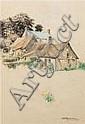 Emily Hilda Nicholas (1884-1961) Country Cottages, Hilda Rick Nicholas, Click for value