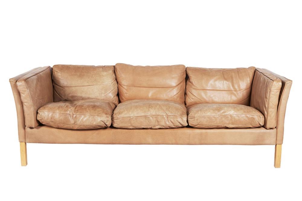 After Borge Mogensen (Danish, 1914-1972) Three Seater Sofa