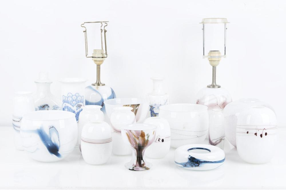 Michael Bang for Holmegaard Collection of Vases, Melody Range