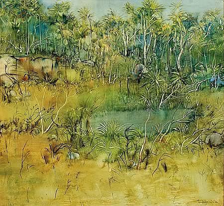 William Boissevain (born 1927) Landscape with