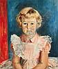 Judy Cassab (born 1920) Portrait of Young Girl,, Judy Cassab, Click for value