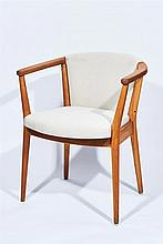 After Nanna Ditzel (Danish, 1923-2005), Set of Six Dining Chairs
