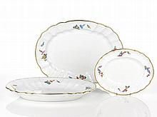 Herend Three Oval Serving Platters each with